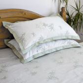 Photography of Heavy jacquard bamboo 3 pc bed set double bed, bamboo cotton, 70/30 viscose from Bamboo / cotton