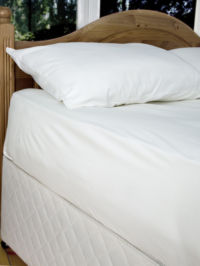 Fitted Kingsize Sheet - 70% Bamboo 30% Cotton